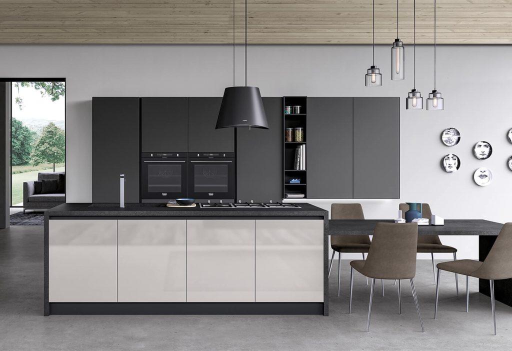 arredo3 cucina moderna modello glass