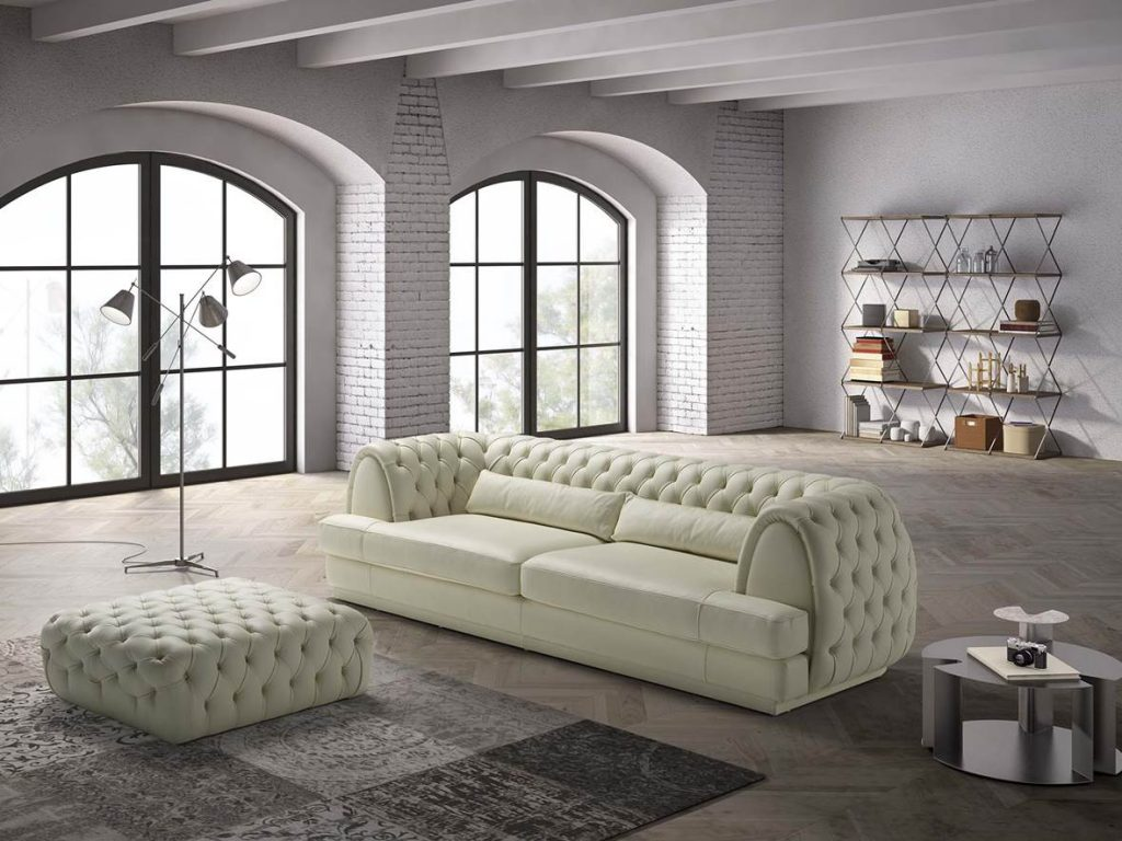 divano classico michelangelo delta salotti