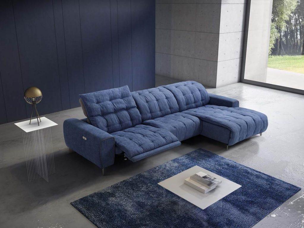 divano in tessuto imbottito cannes Delta salotti