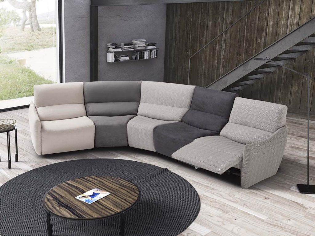 divano modulare arcobaleno