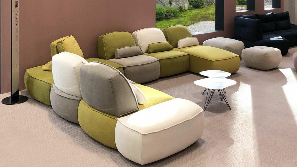 divano modulare rock calia italia