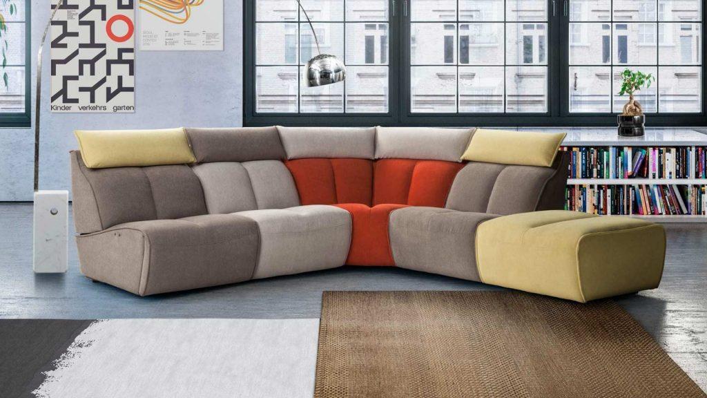 sofà modulare johnny calia italia