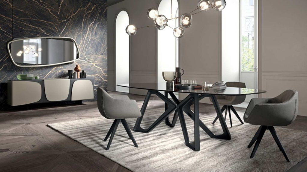 tavolo papillon Ozzio Italia design