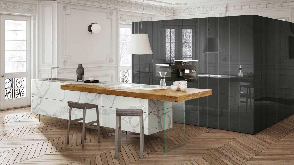 cucina con mobili LAGO