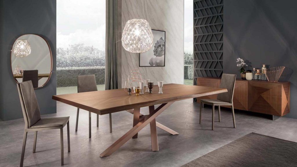 tavolo shangai legno di riflessi